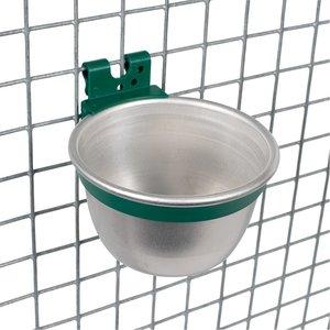 Aluminium voer-/drinkbakje rond ø 100mm